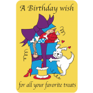 Birthday Wish for Favorite Treats
