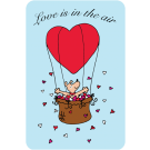 Love Is In The Air (Heart Balloon)