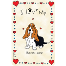 Basset Hound, I Love My