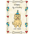 Cairn Terrier, Happy Birthday
