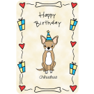 Chihuahua, Happy Birthday