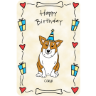 Corgi, Happy Birthday