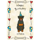 Rottweiler, Happy Birthday