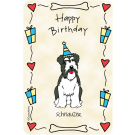 Schnauzer, Happy Birthday