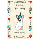 French Bulldog, Happy Birthday