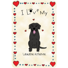 Labrador Retriever Black, I Love My