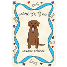 Labrador Retriever Chocolate, World's Best