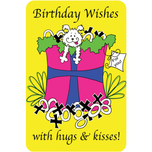 Birthday Wishes With Hugs Kisses