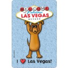 I Love Las Vegas, Welcome to Las Vegas Edible Crunch Card for Dogs