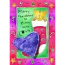 Merry Christmas, Kitty With Love Catnip Toy Greeting Card