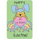 Happy Easter . My Luv Bunny