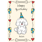 Bichon, Happy Birthday