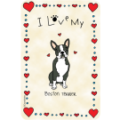 Boston Terrier, I Love My