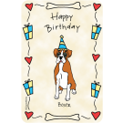 Boxer, Happy Birthday