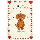 Dachshund, I Love My
