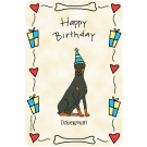 Doberman, Happy Birthday