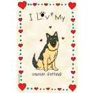 German Sheperd, I Love My