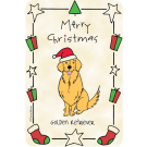 Golden Retriever, Christmas