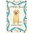 Labrador Retriever Yellow, World's Best